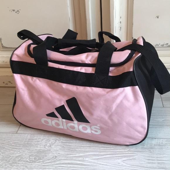 cb436430d adidas Handbags - Pink and black Adidas gym or duffel bag
